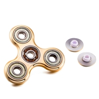 Tri-Spinner Fidget Toy Plastic EDC Fidgets Hand Spinner For Autism and ADHD Increase Focus Keep Hands Busy