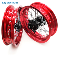 motorcycle Rims 15mm hole 2.50*12 2.5x12 inch & 3.00* 12 3.00x12 inch wheel rim whit CNC hub for CRF Kayo BSE Apollo