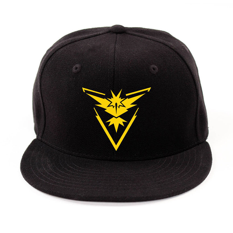 e955a9ce3df68 Multi Colors Fashion Men Womens Unisex Embroidery Cap Hat Pokemon GO Team  Valor Mystic