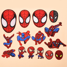 Various Avengers Cartoon Spiderman Patch Embroidered Applique Sewing Clothes Stickers Garment Apparel Accessories