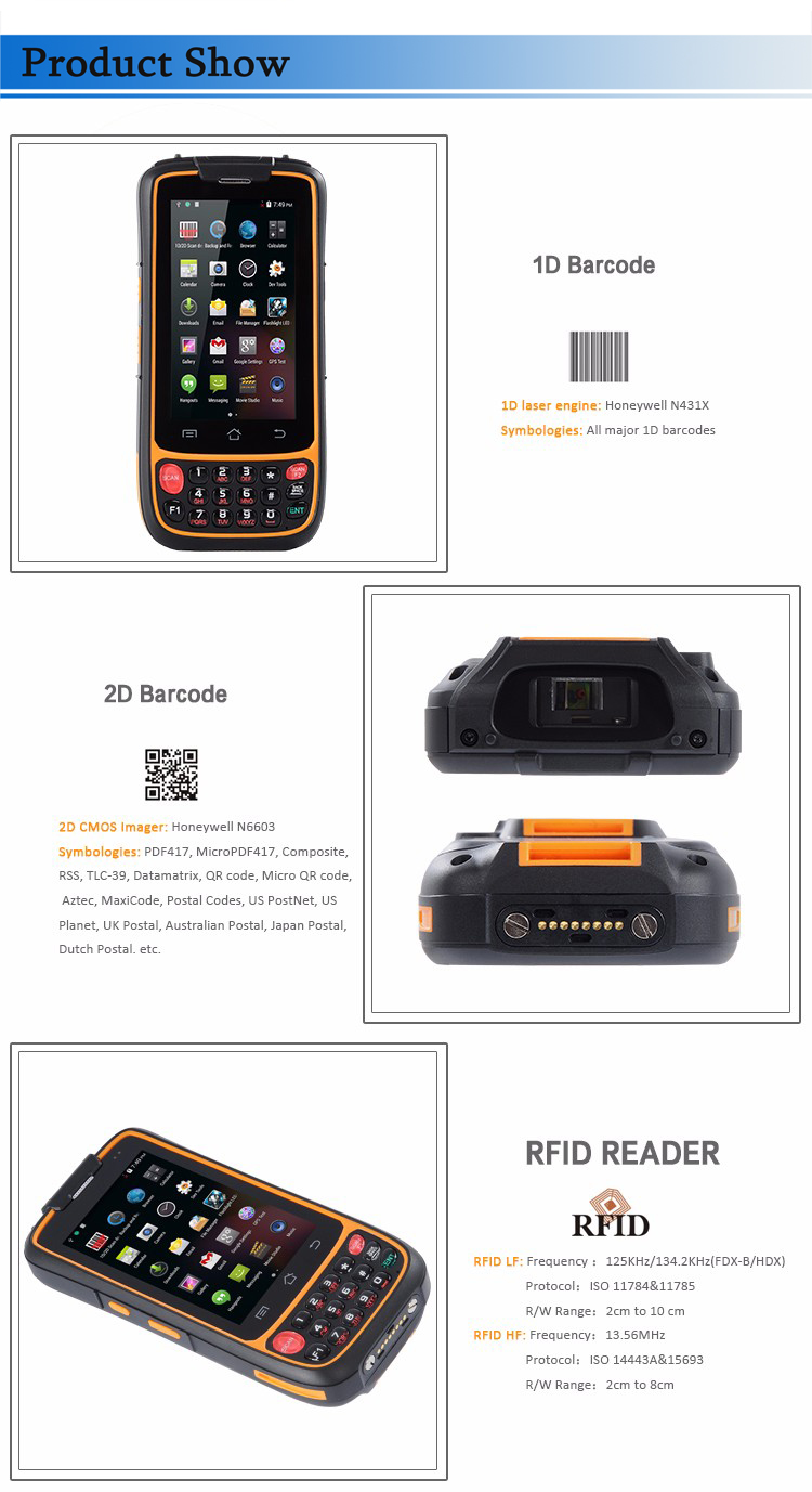 China barcode scanner android Suppliers