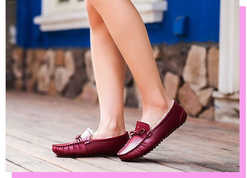 AH 5710  (20) women winter loafers