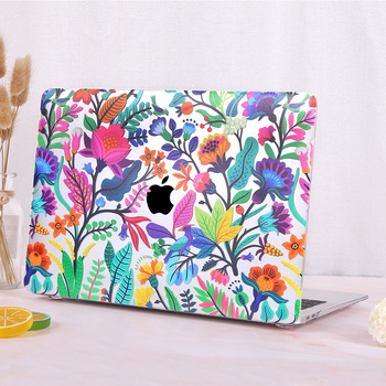 Redlai Colorful Flowers Case for MacBook 4