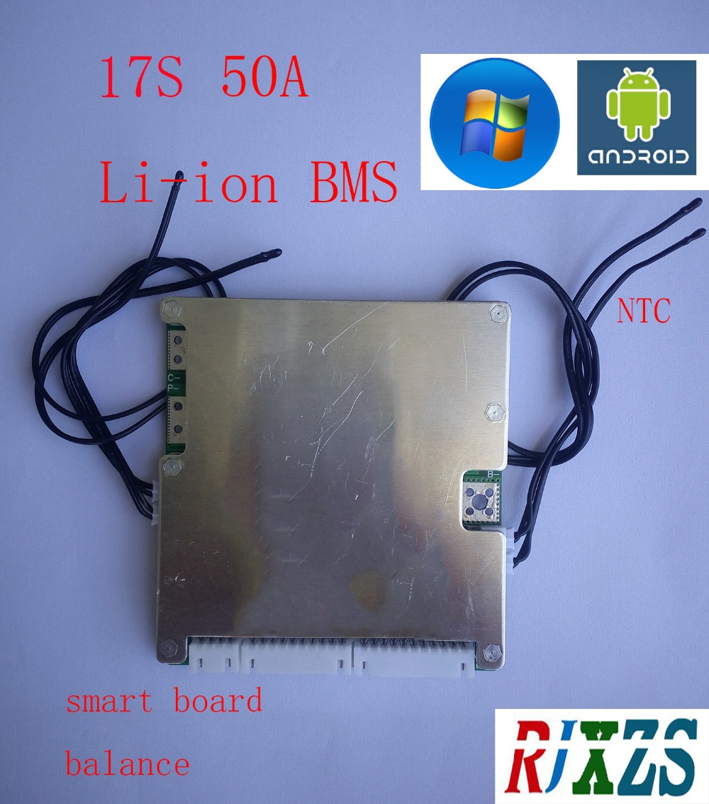 Admirable 17S 50A Lipo Lithium Polymer Bms Pcm Pcb Battery Protection Board Wiring Cloud Hisonuggs Outletorg
