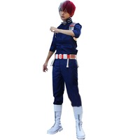 2018 New Style Boku no Hero Akademia Shouto Todoroki Shoto Cosplay My Hero Academia Costume