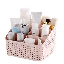 Home imitation rattan Storage rack shelves cosmetics Daily Necessities office desktop Storage rack Bathroom accessories