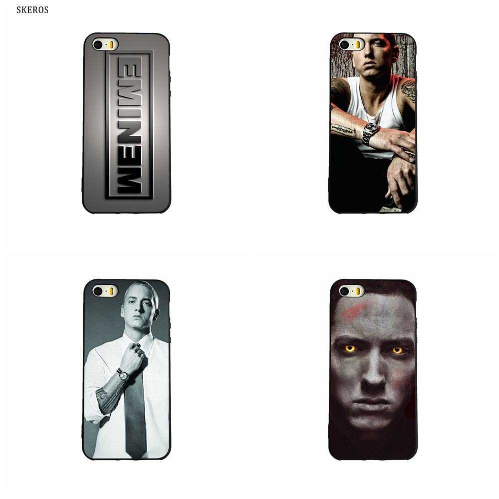SKEROS Eminem Fashion Phone Soft Cover For Apple Iphone X ...