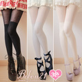 Princess sweet lolita pantyhose Warm autumn and winter wool over-the-knee  bars thick pantyhose spank ac0904 3 color can choose