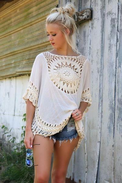 Quality Crochet Bikini Cover-ups Hollow Out Women Handmade Beachwear Bohemia Robe Cover up One-piece Flax Vacation Smock 10
