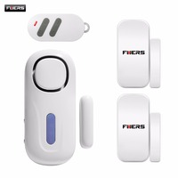 One Wireless Small Independent Magnetic Sensor Alarm With Remote Control Suit For Home Security Door Window