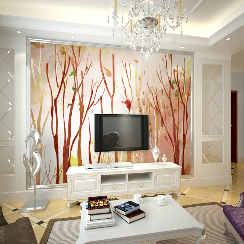 3d Three Dimensional Mural Seamless Simple Definition TV Backdrop Wallpaper Wood Dining Room Den Bo Code In Painting Calligraphy From Home