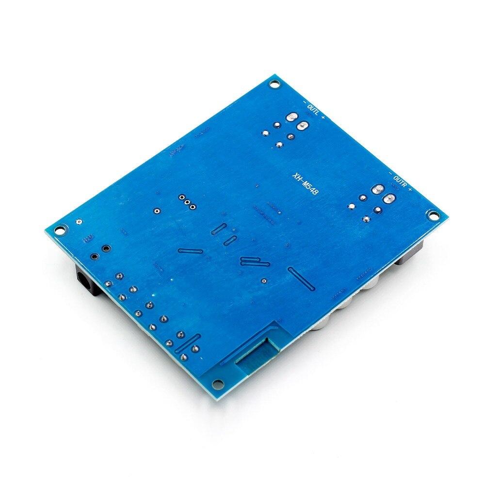 2x120W Power Bluetooth Dual Channel Digital Amplifier Module TPA3116D2 XH-M548 Audio Amplifier