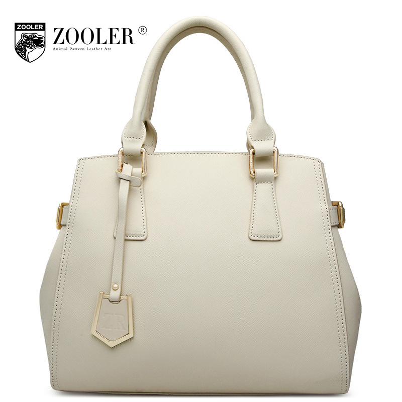 ZOOLER 2017 Winter Women Leather Handbags Fashion Ladies Genuine Leather Shoulder Bags Female Handbag Tote Bag Bolsa Feminina
