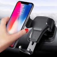 Suporte para smartphone voiture suporte do telefone do carro para samsung huawei lg iphone xiaomi titular do carro suport telefone voiture auto celular