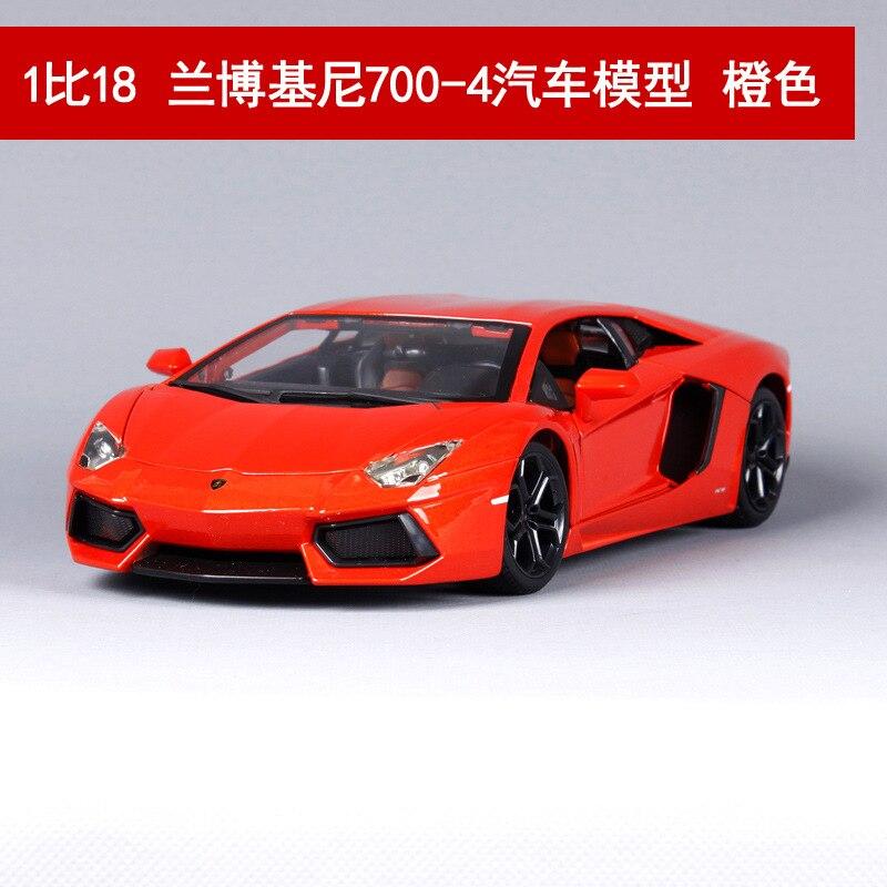 1:18 schaal Voor Aventador Diecast Sport Auto Model Gesimuleerde Metalen Auto speelgoed model met stuurbediening voorwielbesturing-in Diecast & Speelgoed auto´s van Speelgoed & Hobbies op  Groep 3