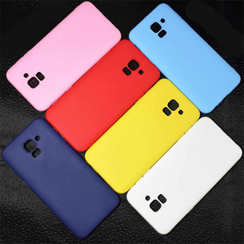 TPU Case For Samsung Galaxy Note 9 8 5 A7 2018 S6 S7 Edge S8 S9 Plus J3 J5 J7 2016 2017 J4+ J6 EU A6 A8 2018 Flower Matte Cases