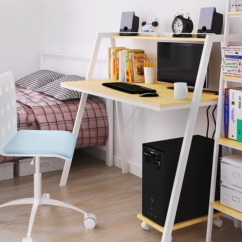 Scandinavian Style Computer Desk Ikea Ikea Bookcase Table Desk Office  Furniture Wood Desk Student Designers In Computer Desks From Furniture On  ...