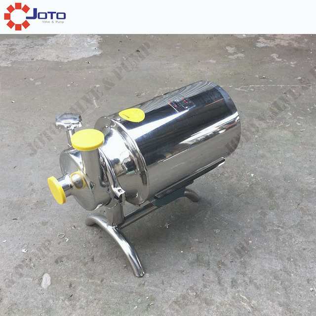 3T 220v/380v50hz Stainless Steel Sanitary Alcohol pump Beverage Pump