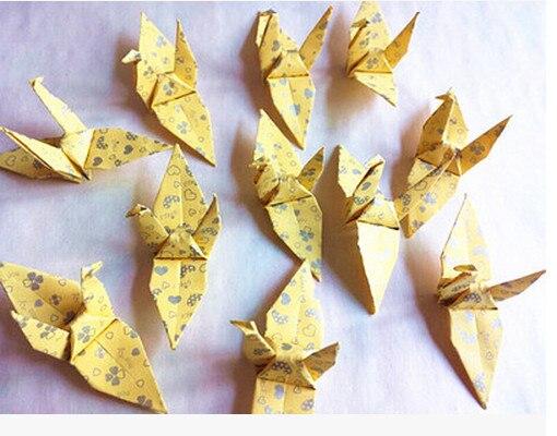 a pure papel hecho a mano de aves cm origami terminado banquete de boda regalos