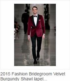 Burgundy Velvet Tuxedos