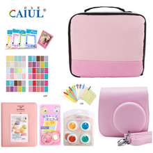 CAIUL Bundle Travel Storage Package Bag Toolkit Bag Wire storage bag Kit with Fujifilm instax mini 8 mini 9 accessories(No Film)