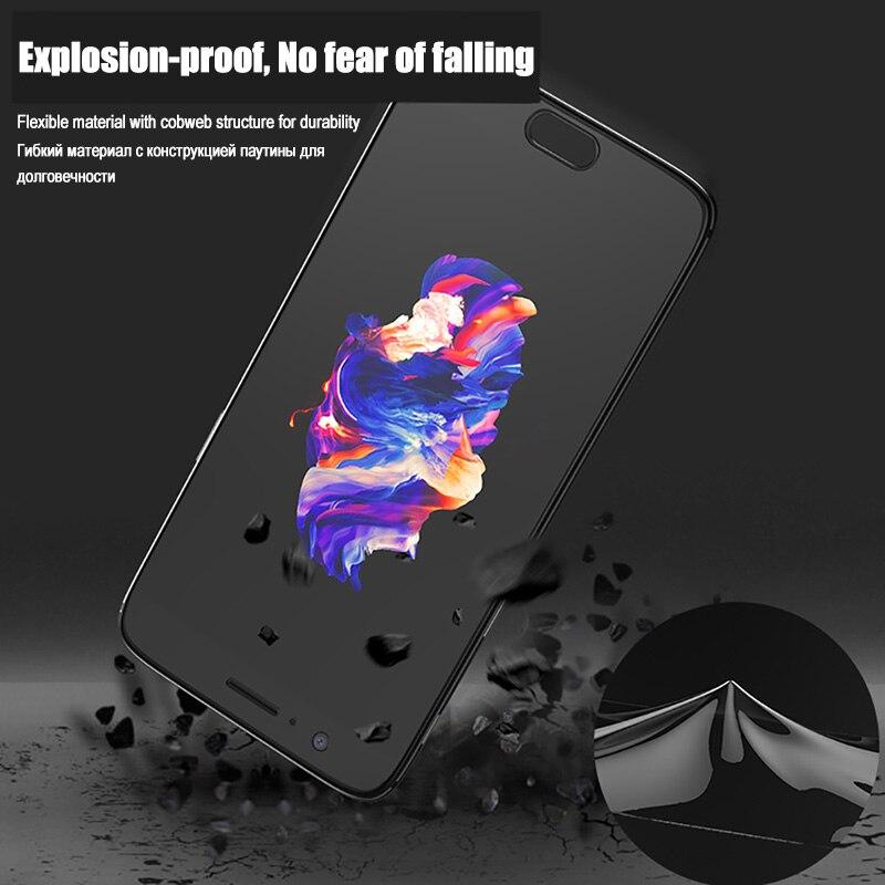 Image 2 - Оригинальная 3D полностью покрывающая Гидрогелевая пленка для OnePLus 5T 6 T 7 Pro без стеклянной защиты экрана для OnePLus 5 6 T 7T мягкая защитная пленка-in Защитные стёкла и плёнки from Мобильные телефоны и телекоммуникации