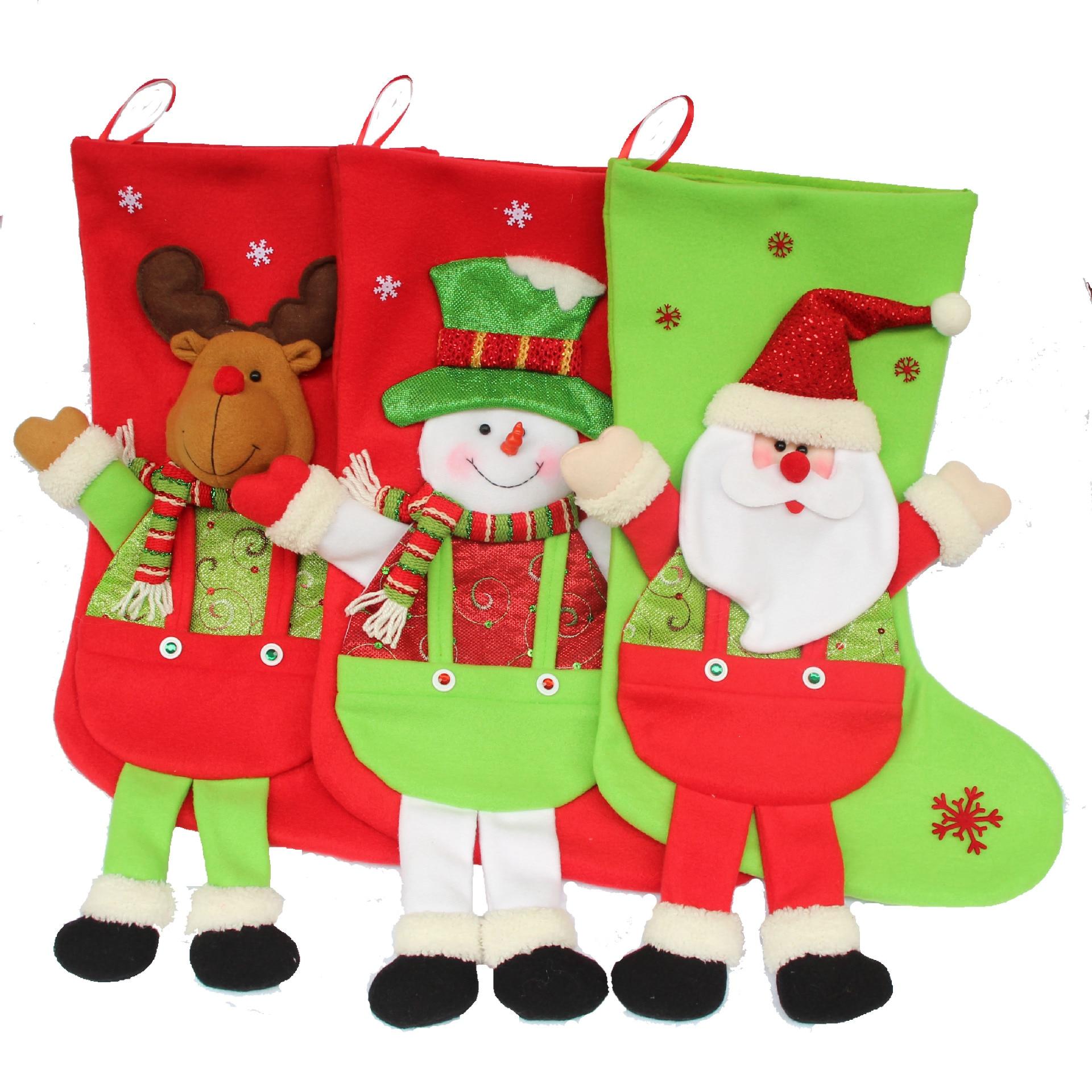 Christmas Stocking Long Font B