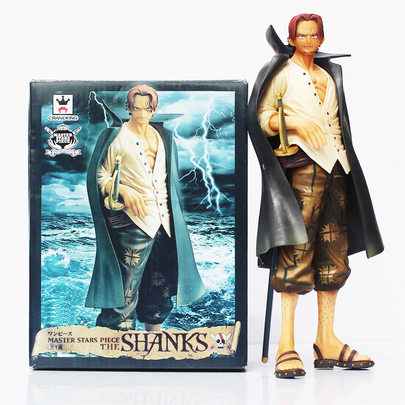 Anime Action Figure One Piece Shanks Boxed PVC Action Figure Collectible Model Toy One Piece