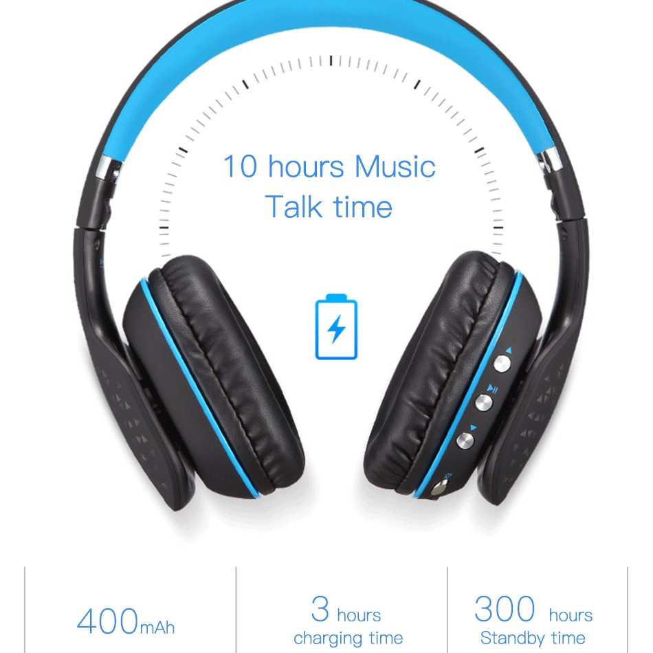 bd185be1cdd ... KOTION EACH B3507 Bluetooth Headphones Wireless Noise Canceling Sport  Music Earphones Headsets Bass Stereo For a
