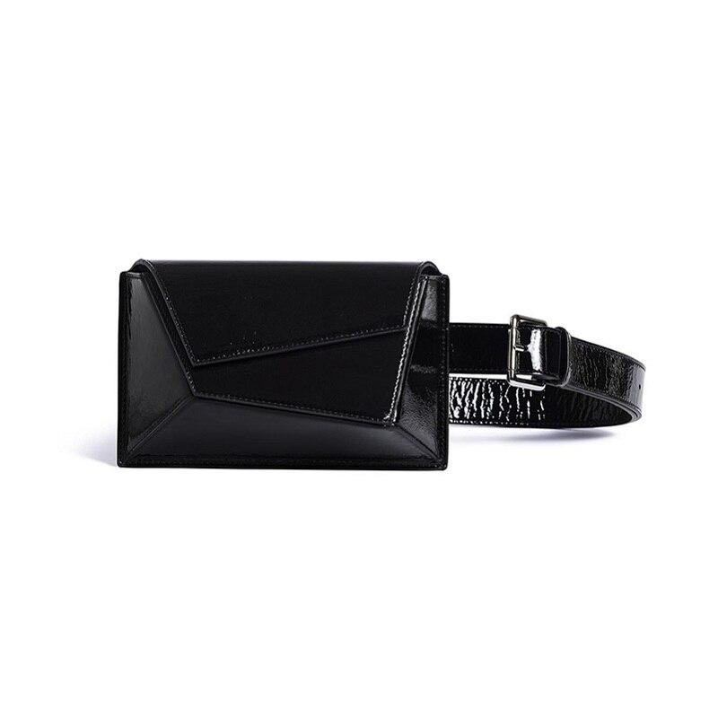 Caker Brand 2019 Women White Pattern Waist Bags Fashion Fanny Waist Pack Colorful Purple Black Green Khaki Belt Bags