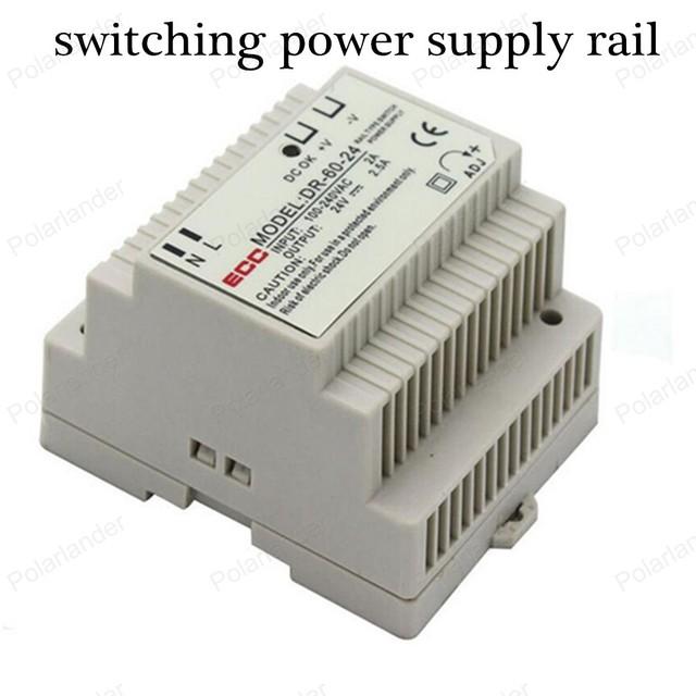 Fuente de alimentación AC/DC 24 V fuente de alimentación de la unidad de tren de salida 2.5A ac dc convertidor regulador de voltaje de corriente continua variable Transformadores de iluminación