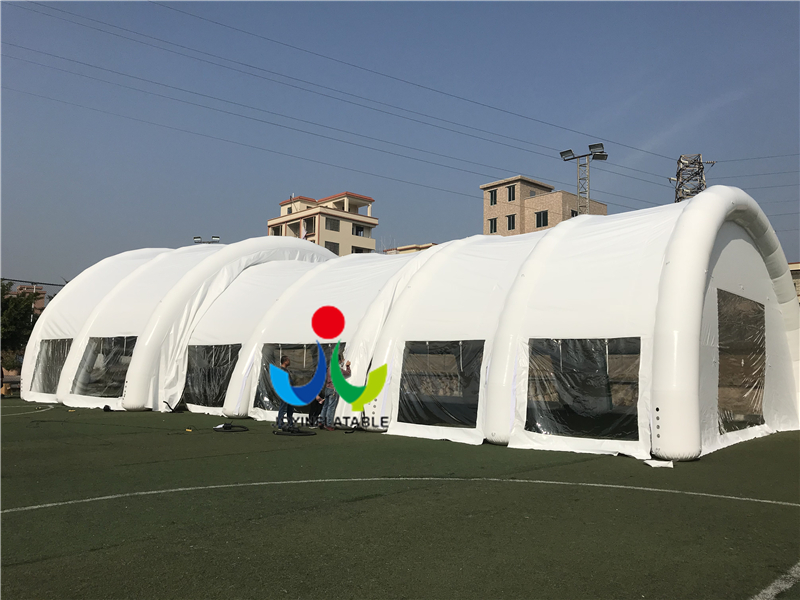 _20171225155510_  Customized PVC Arched Inflatable Wedding Party/ Sport Event Tent PVC /carpa inflable/tente gonflable HTB1EHrcj26H8KJjSspmq6z2WXXam
