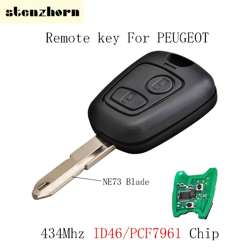 buy stenzhorn 2 buttons 434mhz remote key. Black Bedroom Furniture Sets. Home Design Ideas