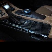Carbon Fiber Stickers For Lexus ES200 ES250 ES300H Water Cup Holder Panel Door Handle Protection Cover Car Accessories