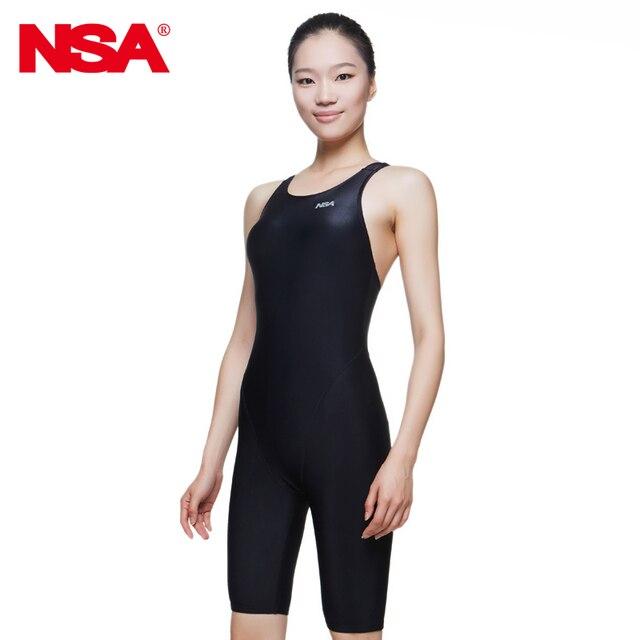 a80620389b90 Aliexpress.com: Comprar NSA 2018 baño niñas profesional racing baño  VaporWick una rodilla pieza competencia impermeable de secado rápido traje  de ...