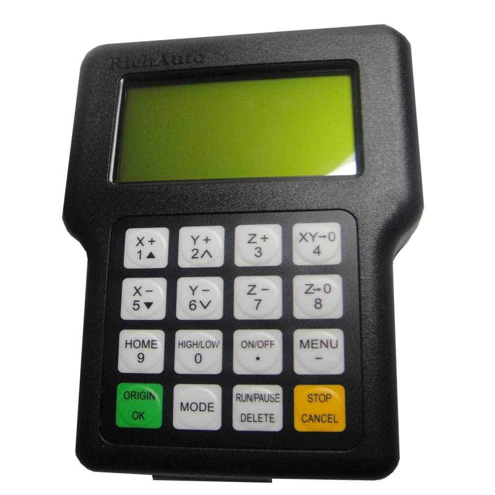 Contrôleur DSP de mouvement de machine de CNC de 3 axes A11 RICHAUTO marque pad de lettres anglais de contrôle de main