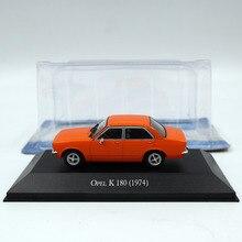 Altaya 1:43 IXO Opel K 180 1974 Diecast Miniature Toys Car Models Collection 1 43 ixo diecast model car brazilian classic fiat uno 1983 miniature vehicle