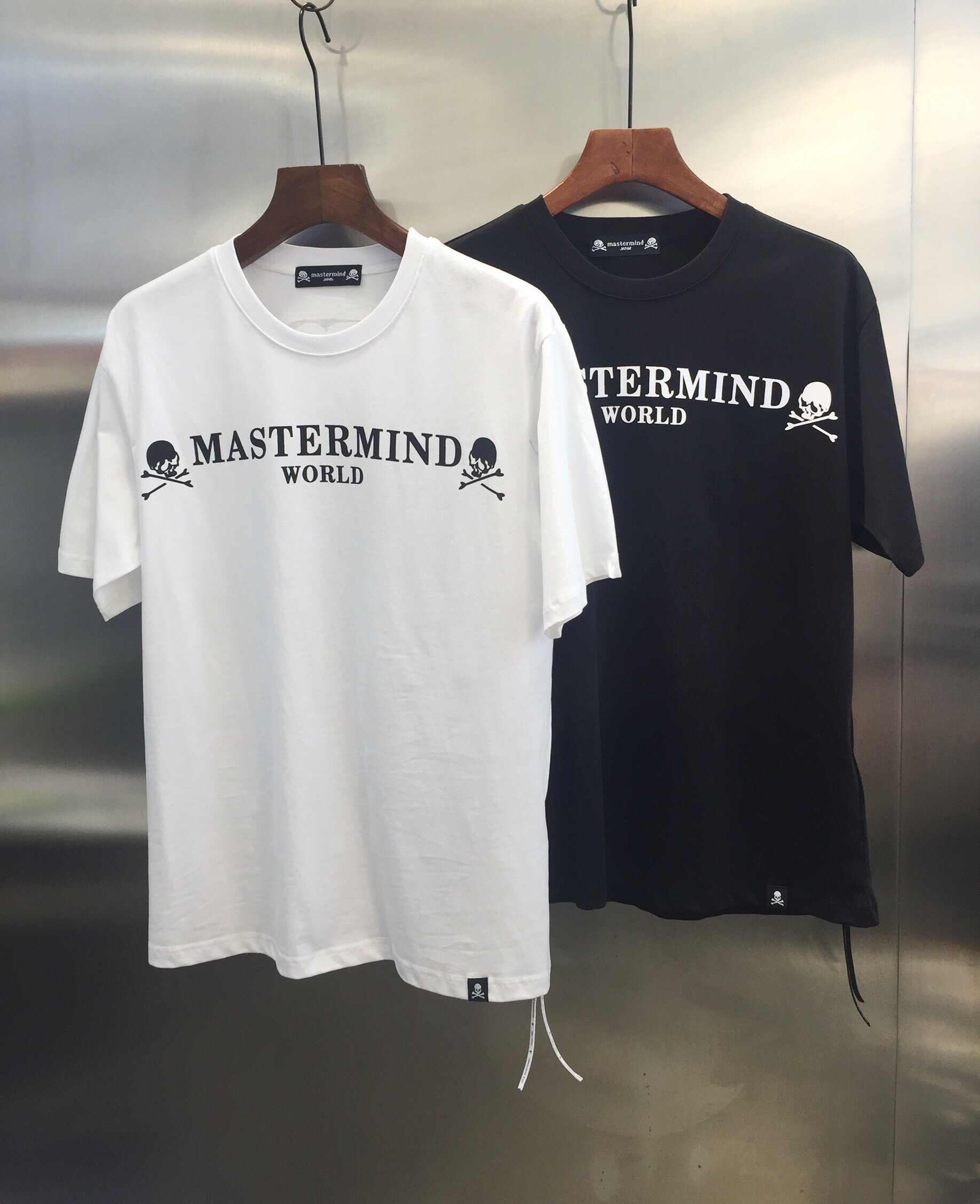 5adf82595c0 2019 Summer Style Mastermind Japan Classic Logo Printed Women Men Big Skull  T shirts tees Hiphop