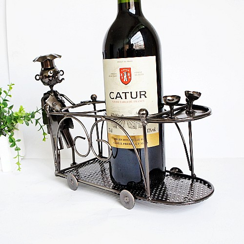 Wine Rack Dining Table: Wedding Gift Decoration Exquisite New Arrival Big Iron