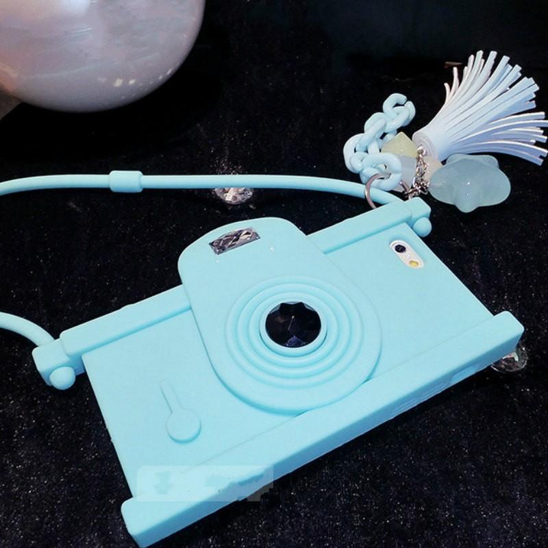 camera case (blue)