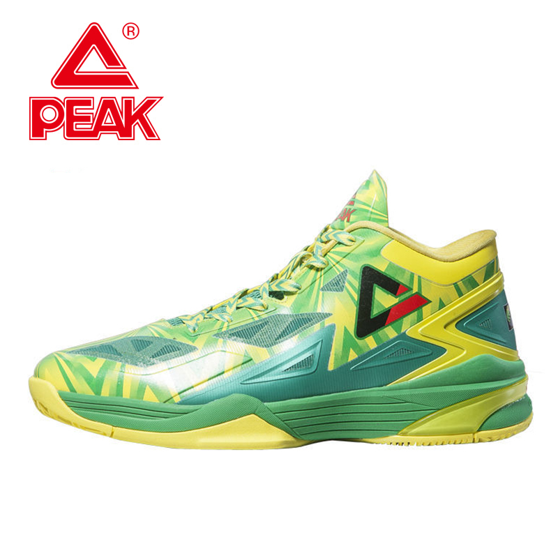 PEAK SPORT Lightning II FIBA World Cup Special Edition Men Basketball Shoe FOOTHOLD Cushion-3 Tech Ankle Boots Athletic Sneakers peak sport lightning ii men authent basketball shoes competitions athletic boots foothold cushion 3 tech sneakers eur 40 50