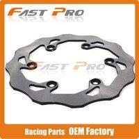 2017 Rear Brake Disc Rotor For Yamaha WR125 DT200 TTR250 TT250R TT R 250 WR200 WR250Z WR500Z YZ125 YZ250 YZ400F YZF R1 YZF R6