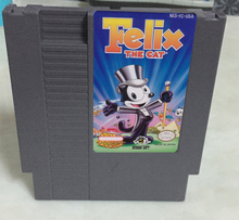 Felix the Cat 72pins 8bit Game card Drop shipping!