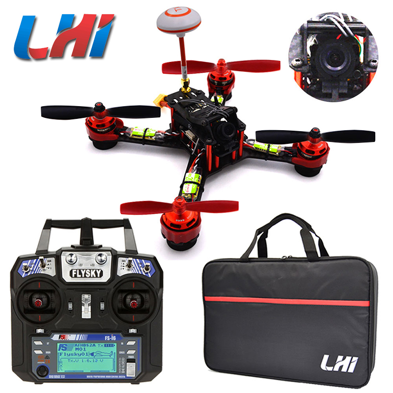 LHI GX210 Cool NYC Quadcopter F3 RC drone Fpv drone med kamera professionell 700TVL helikopter 40CH VTX mini quadrocopter kit