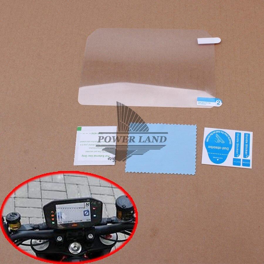 For KTM 1290 SUPER DUKE ADV R S T 2017 Motorcycle Speedometer Instrument Dashboard Screen Sticker Protective Gauge Monitor Film