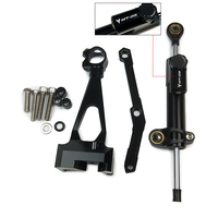 For Yamaha MT 09 2013 2014 2015 2016 2017 Steering Damper Mounting Bracket Kit Stabilizer MT09