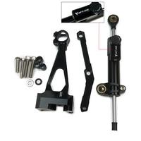For Yamaha MT 09 2013 2014 2015 2016 2017 Steering Damper Mounting Bracket Kit Stabilizer MT09