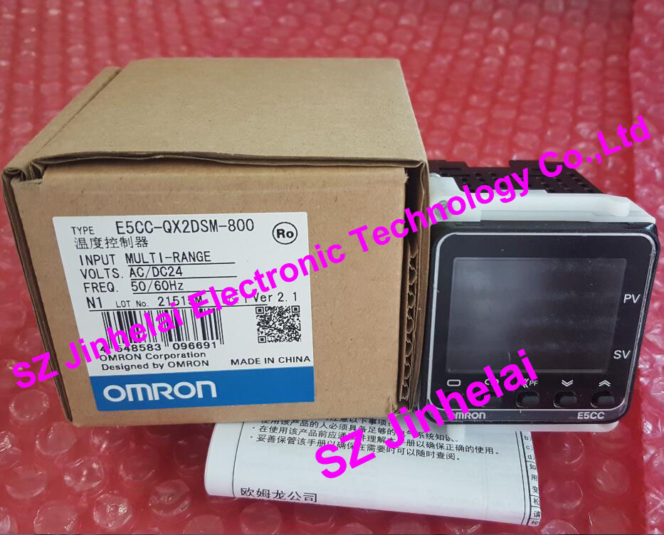 100% New and original E5CC-QX2DSM-800 OMRON DIGITAL CONTROLLER AC/DC24 все цены