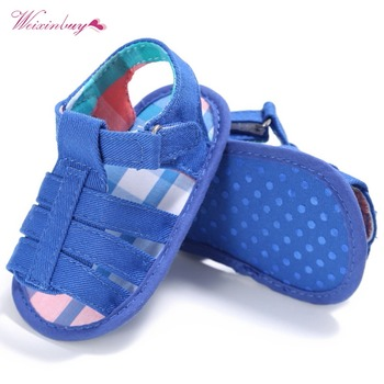 Newborn Baby cloth cover sandals soft toddler shoes Prewalker conjuntos casuales para niñas