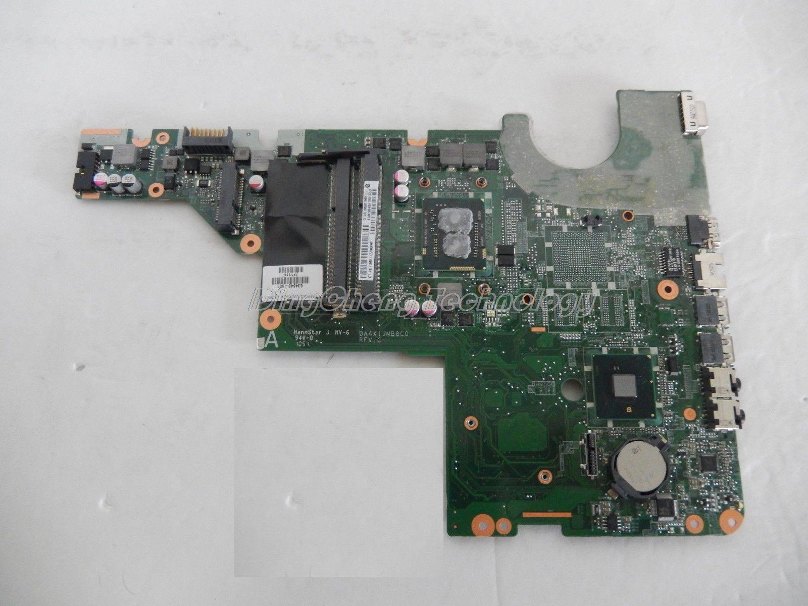45 days Warranty  laptop Motherboard for hp CQ42 notebook mainboard , 634648-001 ISKAA L2S Paypal Accepted